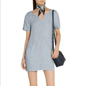 J Brand Ada Mini Linen Dress